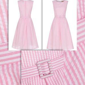 8da63bff1f Lindy Bop Dresses - NWT 60s VTG INSPO PINK SEERSUCKER • JACKIEO DRESS
